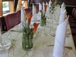 Tischgesteck Tischdekoration